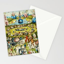 Hieronymus Bosch - The Garden Of Earthly Delights Stationery Cards