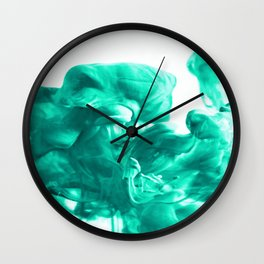 Breathe #society6 #abstract #buyart Wall Clock