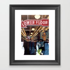 Which way is Up?... Framed Art Print
