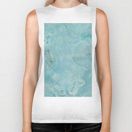 Turquoise Sea Marble Biker Tank
