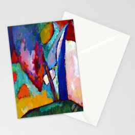 Wassily Kandinsky The Waterfall Stationery Cards