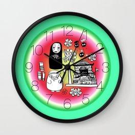 Spirit Away Characters Wall Clock