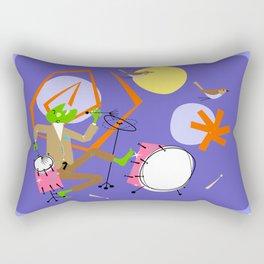Buddy Rich - It's not easy being green! Rectangular Pillow