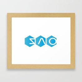 Sword Art Online: Logo (Version 2) Framed Art Print