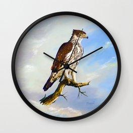 African hawk Eagle Wall Clock