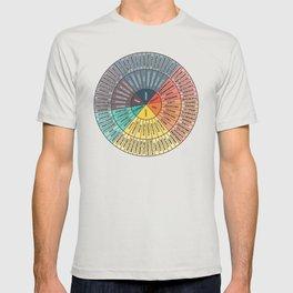 Wheel Of Emotions T-shirt