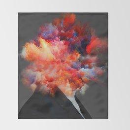 Overthinking Mind Throw Blanket