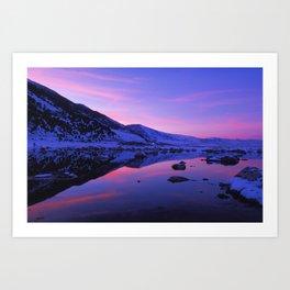 Mono Lake Sunset Art Print