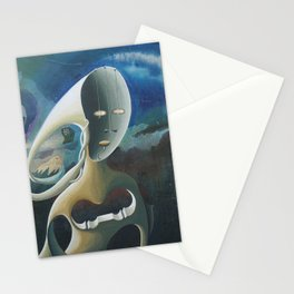 Self-Made Man and Empty-Headed Woman (1994) Stationery Cards
