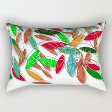 colored leaves Rectangular Pillow