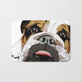 Bitch Please.  I'm Fabulous.  English Bulldog. Bath Mat