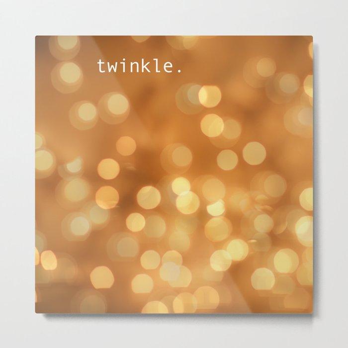 Twinkle Metal Print