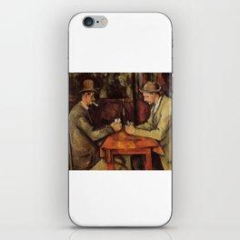 card iPhone Skin