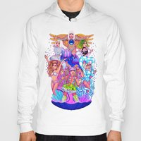 rave Hoodies featuring Farewell art RAVE by Helen Green