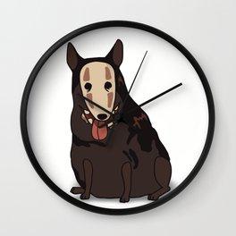 Ghost dog Wall Clock