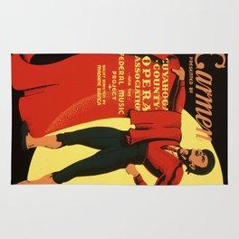Vintage poster - Carmen Rug