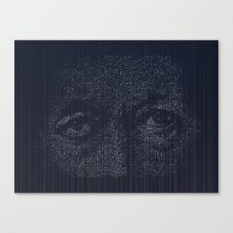 Leviathan: Jonah in the Belly of the Fish Canvas Print