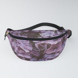 Purple Hydrangea Fanny Pack