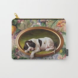 A small joke with a dog Carry-All Pouch