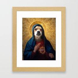 The Hairy Virgin Framed Art Print