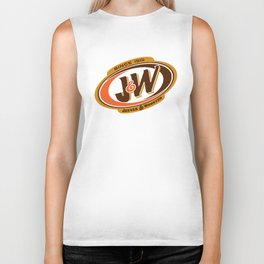 Jeeves and Wooster's Fine Beverages Biker Tank