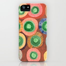 The Green Core Combines iPhone Case