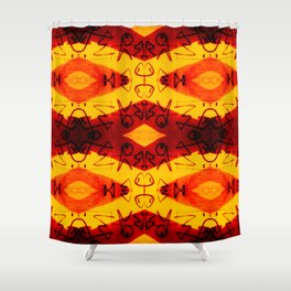 Graffitti - Infinity Series 003 Shower Curtain