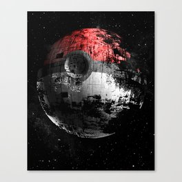 Poked to Death 3D Canvas Print