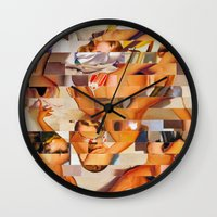 clueless Wall Clocks featuring The Young and the Restless (Provenance Series) by Wayne Edson Bryan