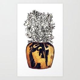 flowers for caligula Art Print