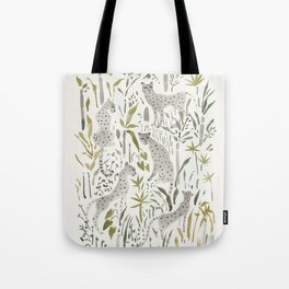 Grey Cheetahs Tote Bag