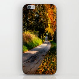 Autumn Dreams. iPhone Skin