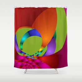 dreams of color -20- Shower Curtain