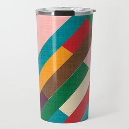 meridian pink Travel Mug