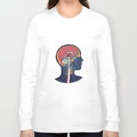 anatomy Long Sleeve T-shirts featuring anatomy by kanakiki