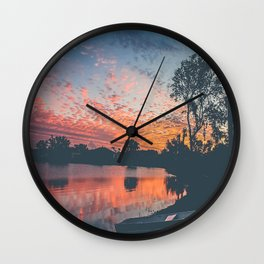 The Calm After the Storm Wall Clock