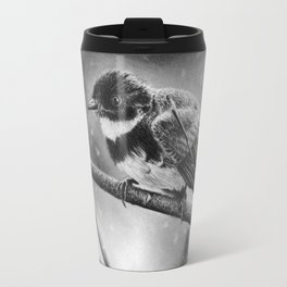 Winter Bird Travel Mug
