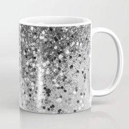 Soft Silver Gray Glitter #1 (Faux Glitter - Photography) #shiny #decor #art #society6 Coffee Mug
