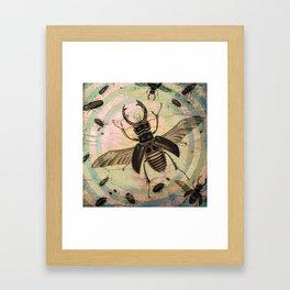 Creepy Bugs Framed Art Print