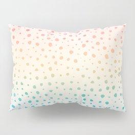 Rainbow Dot Pattern Pillow Sham