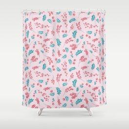 Mistletoe Charm pattern 6 Shower Curtain