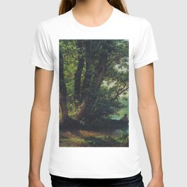 Landscape With Lake 1859 By Lev Lagorio | Reproduction | Russian Romanticism Painter T-shirt