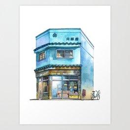 Tokyo Storefront #07 Art Print