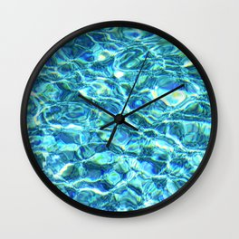 Shimmering Water Wall Clock