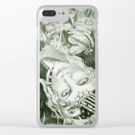 Backyard Bathtub Clear iPhone Case