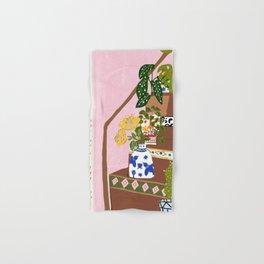 Bohemian stairs Hand & Bath Towel