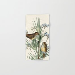 Little Birds and Flowers III Hand & Bath Towel
