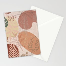 Pink Terracotta Pattern Stationery Cards
