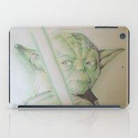yoda iPad Cases featuring yoda by DelDP