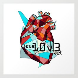 True Love: Color Art Print